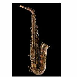 Schagerl Superior Model Alto Saxophone Vintage Finish With Deluxe Case