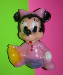 Chalkware Vintage Coin Bank Carnival Game Prize Figurine Minnie Mouse Rare