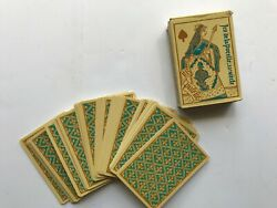 Vintage Made In France Mid Evil Design Playing Cards