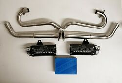 Yamaha Raptor 700 06-14 Empire Industries Dual Shorty Exhaust And Dynatek Fusion