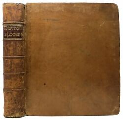William Addington / Abridgment Sic Of Penal Statutes Which Exhibits At Signed