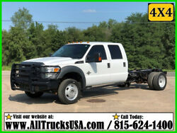 2014 Ford F550 CREW 4X4 CREW CAB 6.7 POWERSTROKE DIESEL CAB & CHASSIS TRUCK 39K