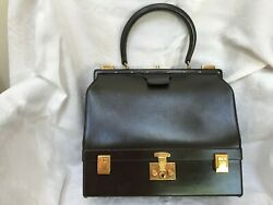 Hermes Ladies Sac Mallette Top Handle Bag with Jewelry Compartment