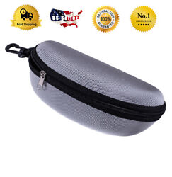 Slim Eyeglasses Glasses Hard Case with Hook Fits For Oakley Ray Ban Sunglasses $9.99