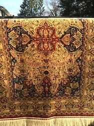 A+ Investment Quality Semi Antique Hereke Silk Rug 3.5 Million Knots Very Rare