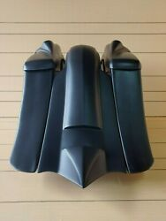Harley Davidson 7down 14back Stretched Bags And Fendertweeter Lids 8 For 14-19
