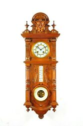 Gorgeous Antique German Kienzle Wall Clock / Barometer/ Thermometer Approx.1900
