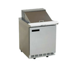 Delfield 4427np-6 27 One-section Sandwich/salad Top Refrigerator With Casters