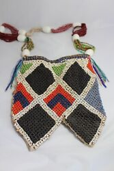 Vintage Native American Sioux Tribe Beaded Satchel Circa Early 20th Century