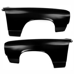 1971 1972 El Camino Front Fender Pair Right And Left Side 2pcs Edp Steel Dynacorn