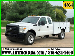 2011 Ford F350 4X4 Extended Cab 6.7 POWERSTROKE DIESEL 9' BED SERVICE TRUCK