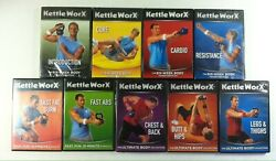 Lot 9 Kettleworx Dvd 6-week, 10-minute Workouts, Ultimate Body Collection