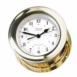 Weems And Plath Atlantis Collection Quartz Shipand039s Bell Clock Brass