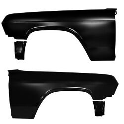 1965 Impala Fender Panels Pair Right And Left Side Edp Coated Steel Dynacorn