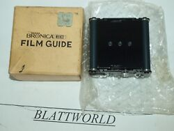 New Very Old Stock Zenza Bronica Film Guide Insert For Bronica Ec Cameras In Box