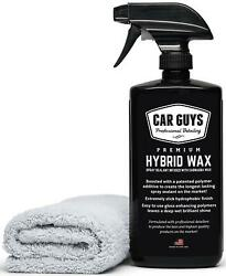 CarGuys Hybrid Wax Sealant - Most Advanced Top Coat Polish and Sealer on the