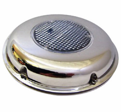 Solar Powered Boat Vent Stainless Steel 8 1/2 215 Mm Diameter Vent1 Boat /yacht