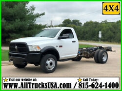 2012 Dodge RAM 5500HD 4X4 6.7 CUMMINS DIESEL CAB AND CHASSIS TRUCK Used Regular