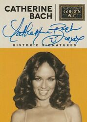 2014 Panini Golden Age Historic Signatures Catherine Bach Autograph Bch
