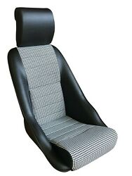 1970-76 Porsche 914 Gt Touring Sport Seat. Leatherette/houndstooth