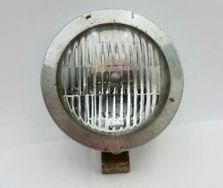Vintage Perfection F-40 Sae F-69 Fog Lamp Jeep Buggy Truck Oem Part Untested