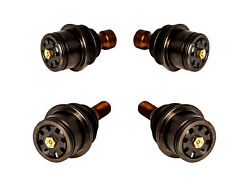 Superatv Super Duty 300m 2 Upper And 2 Lower Ball Joints For Can-am Maverick X3