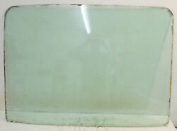 1969 1970 Mustang Gt Mach 1 Boss Shelby Orig Fastback Rear Window Glass Date 9k