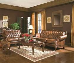 2-Pc Living Room Set in Light Brown [ID 3757171]