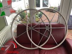 For Beneteau 44 Dia 20and039and039- 24and039and039 Leather Steering Wheel Cover Diff Colors