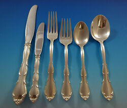 Fontana By Towle Sterling Silver Flatware Set For 8 Service 54 Pieces