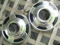 Two Gmc Chevy Pickup Truck Blazer Dog Dish Hubcaps Wheel Covers Center Caps 1/2