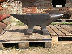 410 Lbs Blacksmith Large French Pig Anvil Long Double Feet