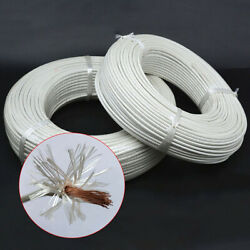 Heat Resistant High Temperature  Silica gel Glass Fibre Wire cable 100