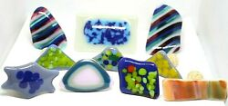 Glass Art Bottle Toppers Stoppers Corks Many Styles Decorative Handmade Gifts