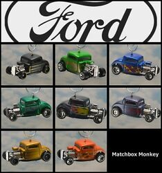 1932 Ford Truck Hot Rod Custom Christmas Ornament Adorno And03932 Roadster 3 Window