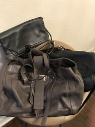 Designer Made in Italy Bag Bundle -Leather - Retail $800