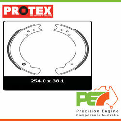 2x New Protex Brake Shoes - Fr For Land Rover Series 3 88 2d H/top 4wd