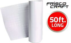 FriscoCraft Hot Transfer Tape for Printable Heat Transfer Vinyl HTV 12quot; x 50#x27;