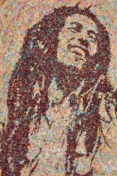 Bob Marley Original By Jim Dowie - Picture Framed