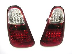 Mini Cooper R50 R52 R53 2002-2004 Upgrade Led Rear Lamps Tail Lights Set Clear