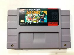 Super Mario All Stars Super Nintendo Snes Game - Tested Working And Authentic