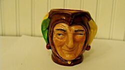 Vintage Royal Doulton The Jester Character Toby Jug Made In England