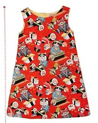 Designer Boutique Style Little Girls Size 7 Red Special Occasion Party Dress