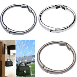 Portable Foldable Folding Metal Alloy Purse Handbag Hook Hanger Bag Holder 15KG