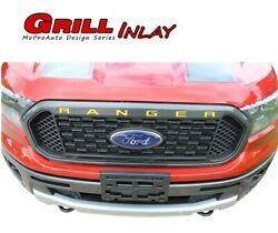 2019 2020 Ford Ranger Grill Letters Name Text Decals 3m Vinyl Graphics Kit
