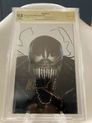 Venom 1 Signed By Adi Granov And Donny Cates Cbcs Ss 9.8 Knull/codex