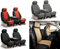 Coverking Synthetic Leather Custom Seat Covers for Chevrolet Corvette