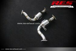 Res Racing Cat With Cat Downpipe For Audi S5 8t3/8ta/8f7 2008-2016 3.0t/4.2