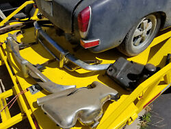 1970 Vw Volkswagen Karmann Ghia Front And Rear Bumpers Only