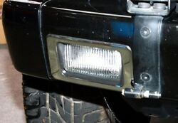 Stainless Steel Fog Light Cover Set For 1986-2015 Mercedes Benz W463 G-class